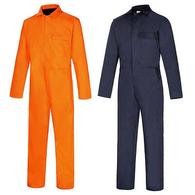 Boiler Suit 100% Cotton Fire / Flame Retardant Welder Safety Coverall Work Wear