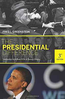 The Presidential Difference: Leadership Style from FDR  - Paperback NEW Greenste
