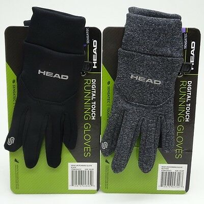 Head Mens Digital Sensatec Touch Screen Running Gloves Size XS, S Choose Color