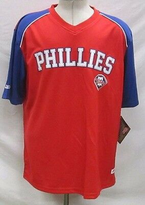 Philadelphia Phillies Men's L, XL Pullover Embroidered Jersey Shirt MLB