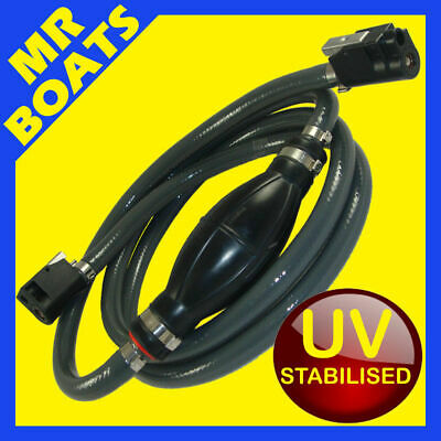 MERCURY MARINER OUTBOARD FUEL LINE Late Model 1999 & up - NEW - 3/8 10mm ID Hose