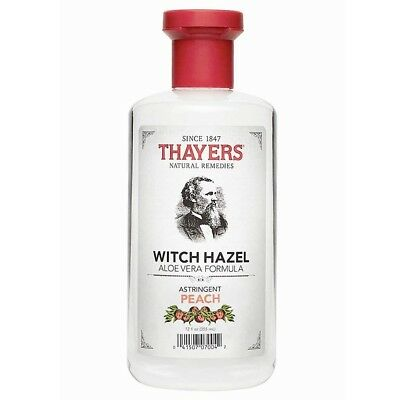 Thayers Witch Hazel Peach Astringent Mens Skin Cleanser Aloe Vera Toner