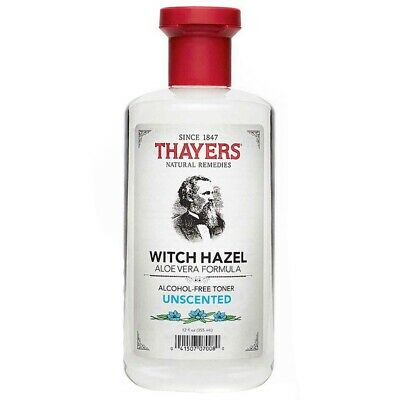 Thayers Witch Hazel Alcohol-Free Mens Skin Cleanser Toner Unscented
