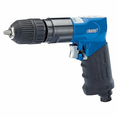 "Draper Tools Reversible Air Drill With 10mm (3/8"") Keyless Chuck - 28830"