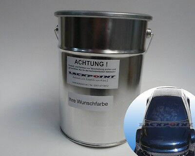 1L Ready-to-spray Base coat Candy Ghost Pearl Black Blue Car Paint Tuning Trend