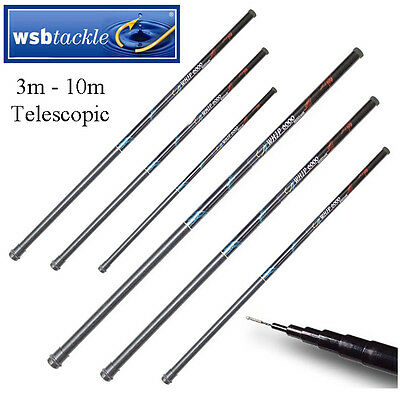 New Telescopic Fibreglass Pole Camping Windsocks Flags Flagpole Beach Tent