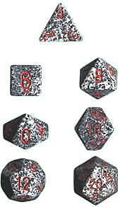 Chessex - Speckled Granite Dice - Set of 7