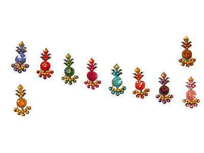 Small Crystal Indian Bindi Sparkling Belly Dance Body Stickers