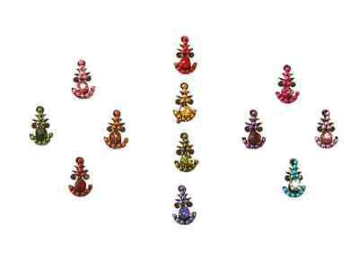 Small Tribal Belly Dance Bindi Tiny Indian Body Stickers