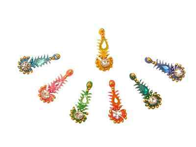 Classic Ethnic Crystal Bindi Pack Traditional Indian Body Stickers