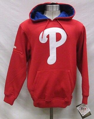 Philadelphia Phillies Men S, L, XL, 2XL Pullover Hooded Sweatshirt MLB