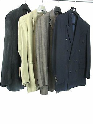 Lot of 4 Mixed Designers Blazers & Sport Coats -  1990'S-VINTAGE New and used