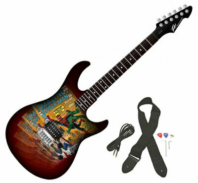 Peavey Marvel Amazing Spiderman #700 Comc Cover Full Size Electric Guitar (SDCC)