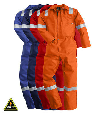 Pioner Firemaster Men Work Coverall FR Overall FM1040 Plus Reflective Tape New
