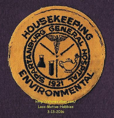 LMH Patch SPARTANBURG GENERAL HOSPITAL Med Center HOUSEKEEPING ENVIRONMENTAL nb