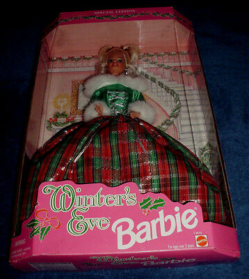1994 Winters Eve Special Edition Barbie Doll Mattel #13613 Nrfb