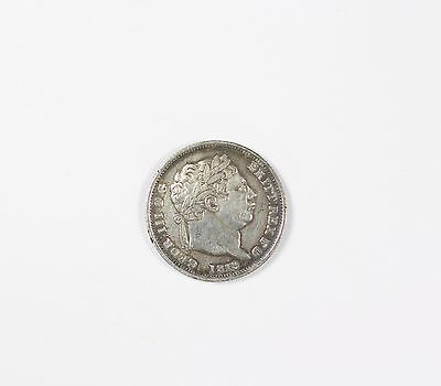 1819 UK Great Britain Silver 1 Schilling Coin George III