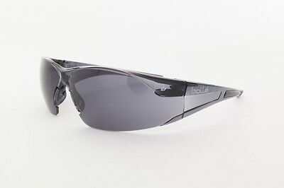 Brand New - Genuine - BOLLE` Safety Glasses - Rush Smoke -