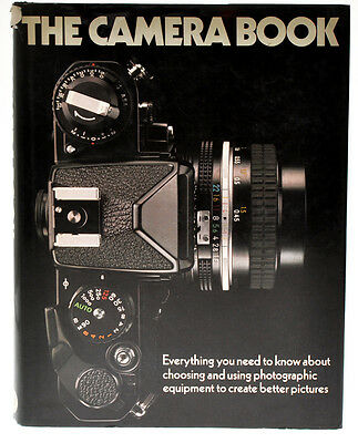The Camera Book libro 1980 in inglese D702