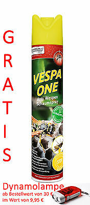 RapidAction Thermacel lVESPA ONE Anti Wespen Spray Schutz Hornissen Eukalyptus