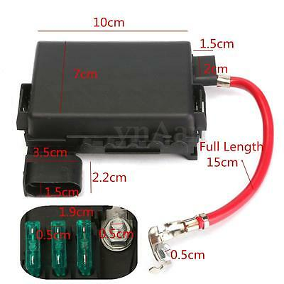 Fuse Box Insurance Battery Terminal for VW GOLF JETTA MK4 1999-2004 1J0937550A