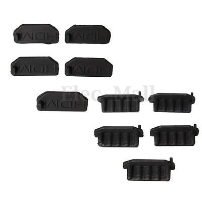 10x Soft Silicon Protective AntiI Dust HDMI Plug Cover Stopper for PC Laptop TV