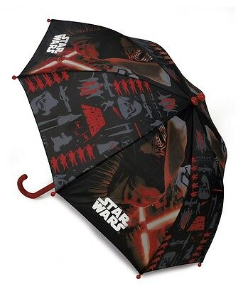 Disney Childrens Star Wars Umbrella with Crook Handle