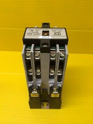Square D 8501 type X080V02 AC Control Relay 9721 series A   NEW