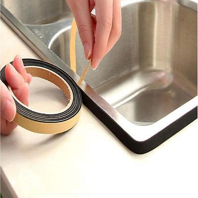 Universal Weather Stripping Sponge Rubber Seal Strip Sticky Tape Door Sealer-LG