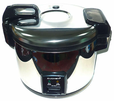 Cuchen Commercial Rice Cooker & Warmer 28 Cup Made in Korea NSF APPROVED!