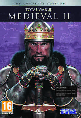 Medieval II 2 Total War Complete Gold Pack with Kingdoms Brand New Sealed