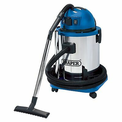 Draper 50L 1400W 230V Wet And Dry Vacuum Cleaner With Tank & Socket Tool - 48499