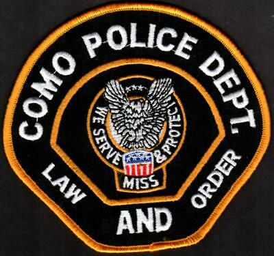 Como Mississippi Police Patch
