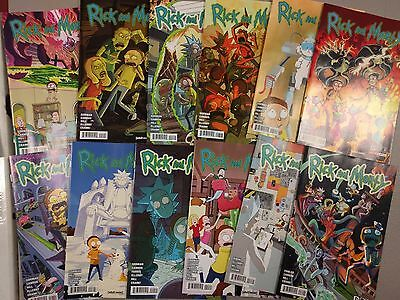 Rick And Morty Oni Press Comic Book 1,2,3,4,5,6,7,8, 9,10,11,12 Nm
