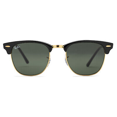 Ray-Ban Clubmaster Classic Sunglasses 51mm (Black / Green Classic G-15)