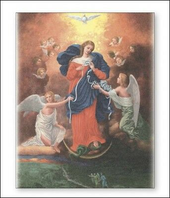 Mary Our Lady Of Knots Canvas Picture - Statues Candles Crucifixes Also Listed