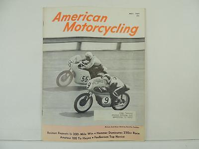 Other Motorcycle Repair Manuals & Literature Auto Parts & Accessories Vintage Dec 1962 AMERICAN MOTORCYCLING Magazine Yamaha Jawa CZ Matchless L3839