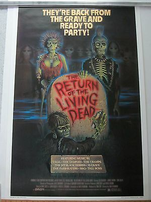 The Return of the Living Dead ~ Dan O'Bannon ~ One Sheet Poster ~ Rolled ~ 1984