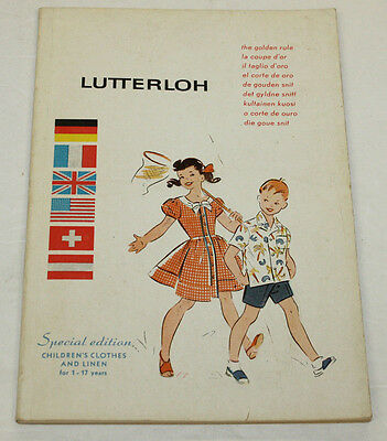 Lutterloh Special Edition Children's Clothes & Linen for Age 1-17 - 225 Patterns