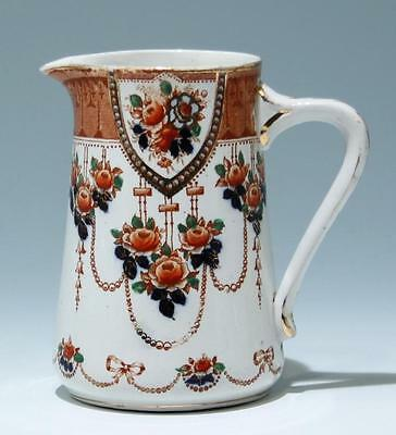 English Transferware Pottery Pitcher circa 1900       #16898
