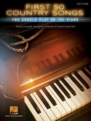 First 50 Country Songs Easy Piano Book *NEW* Sheet Music
