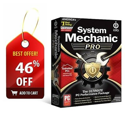 iolo System Mechanic Professional Unlimited (Includes Pro AntiVirus AntiSpyware)