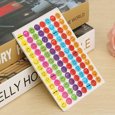 960x Mixed Expression Smiley Faces Reward Stickers For School Teacher Praise