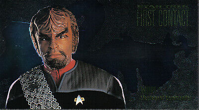 Star Trek First Contact Character Card C7