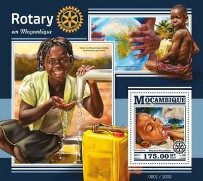 Mozambique - 2015 Rotary International - Souvenir Sheet - MOZ15420b