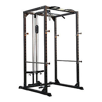 Bodymax CF375 Power Rack System (with lat/low pulley)
