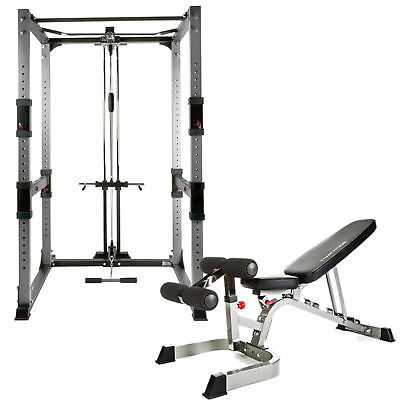 Bodycraft Power Rack System and Bench