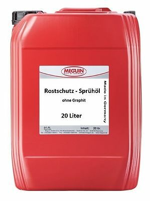 20 Litre Professional Rust protector Corrosion oil Penetrating without Graphite