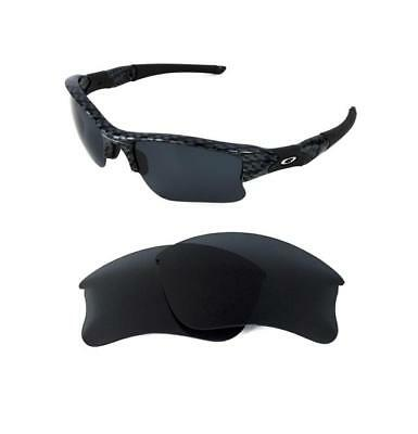 d674f76f4e New Polarized Replacement Black Xlj Lens For Oakley Flak Jacket Sunglasses