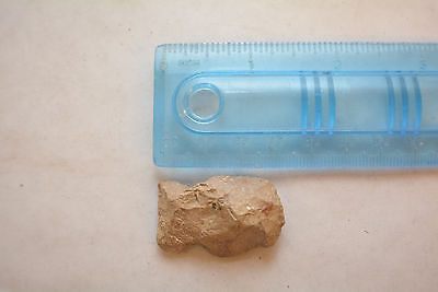 Archaic-Paleo flint blunt head Scraper Arrow head artifact Missouri NAA-298